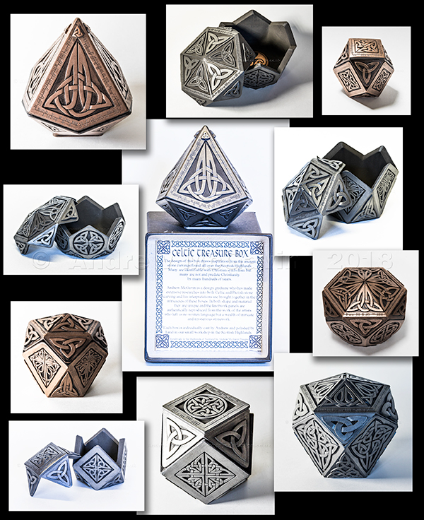 Celtic Treasure Boxes