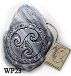 Celtic Spiral Wall Plaque